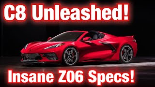 C8 Corvette Reveal! What GM Didn't Tell You! Z06 Specs!!