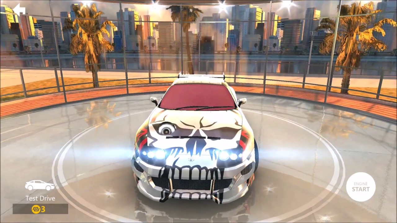 Toyota Supra Custom Build Nitro Nation Racing Online