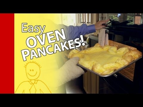 How to Make Pancakes:  Homemade German Pancake Recipe