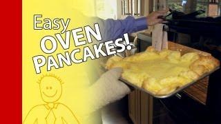 How To Make Pancakes:  Homemade German Pancake Recipe