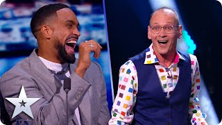 HAHA! Steve Royle gives us all a ROYLE giggle | Semi-Finals | BGT 2020