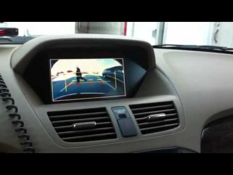 acura mdx with 300r camera backup system by alpine youtube. Black Bedroom Furniture Sets. Home Design Ideas