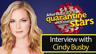 How Hallmark's Cindy Busby is Surviving the Quarantine   AfterBuzz TV
