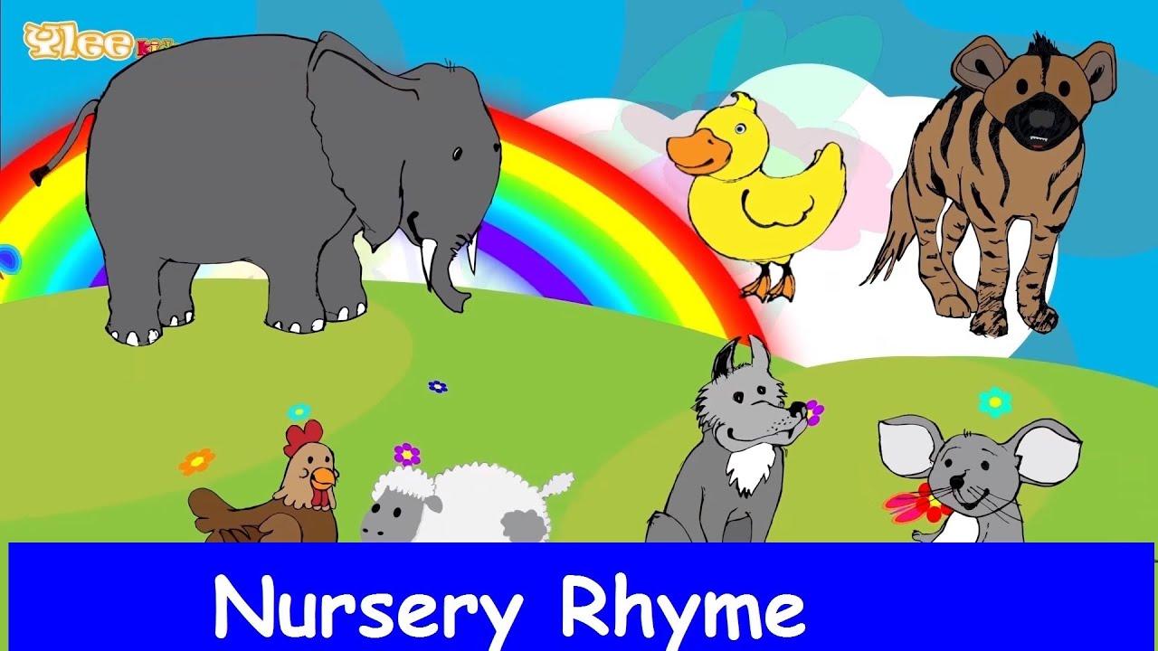 Canzone degli animali canzone per bambini yleekids - Animali terrestri per bambini ...