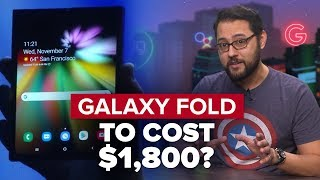 Galaxy Fold to cost $1,800? (Alphabet City)