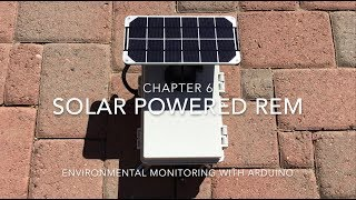 Solar-Powered Remote Environmental Monitor (REM) Enclosure