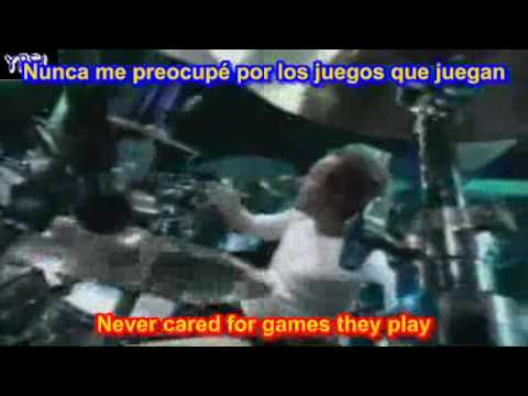 Metallica - Nothing else matters ( SUBTITULADA ESPAÑOL INGLES )