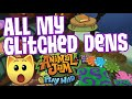 ALL MY GLITCHED DENS | Animal Jam Play Wild