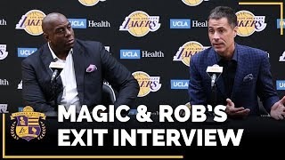 Lakers Exit Interviews 2018: Earvin Magic Johnson & Rob Pelinka