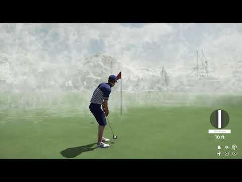 PGA TOUR 2K21 - Dee's Water Wonderland (NO COMMENTARY)  