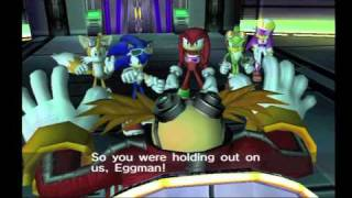 Sonic Riders Zero Gravity Cutscenes (Sonic / Part 1/2)