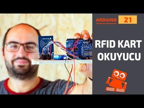 Arduino RFID Otomatik Kapı (RC522 RFID Kullanımı)