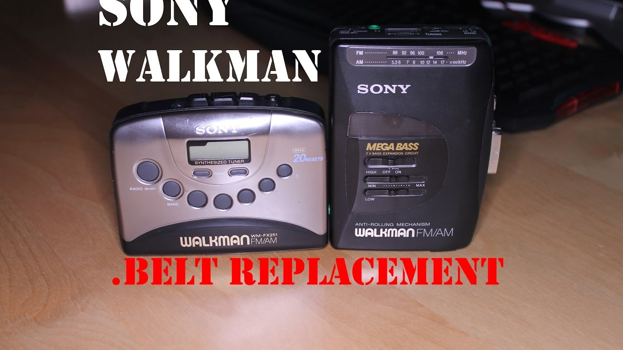 SONY Walkman Belt Replacement WM FX251