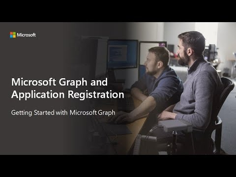 Getting Started with Microsoft Graph and Application Registration
