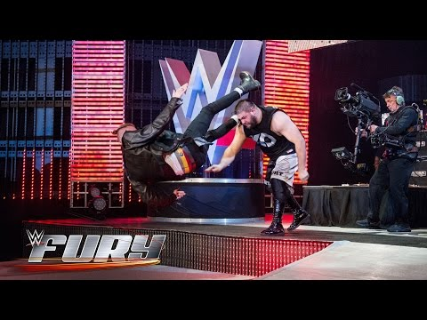 15 high-risk attacks on the stage: WWE Fury