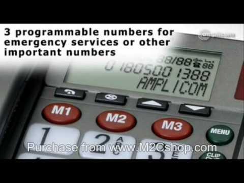 Amplicom PowerTel 50 Plus Wireless Emergency Alarm Telephone