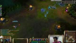 Ocelote plays Orianna vs Zed mid lane