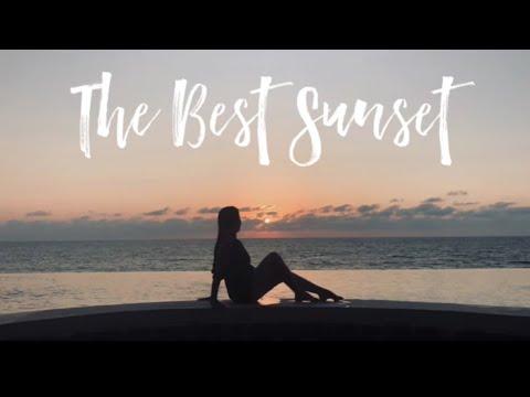 The Best Sunset In La Union White House Beach Resort Youtube