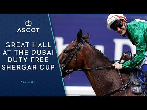 Great Hall Wins The The Dubai Duty Free Shergar Cup Challenge