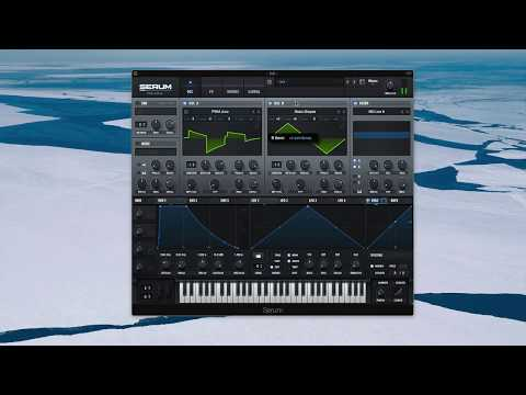 FISHER Tech House Synth Serum Tutorial (Free Preset)