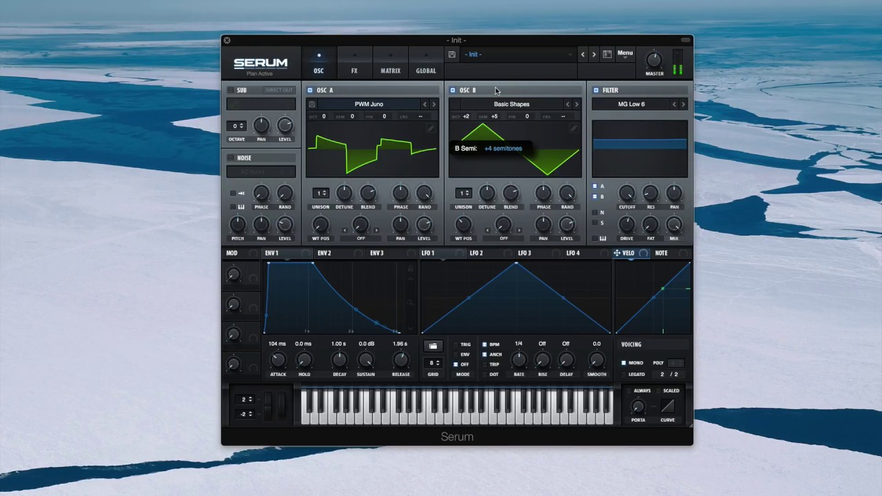 how to use serum presets