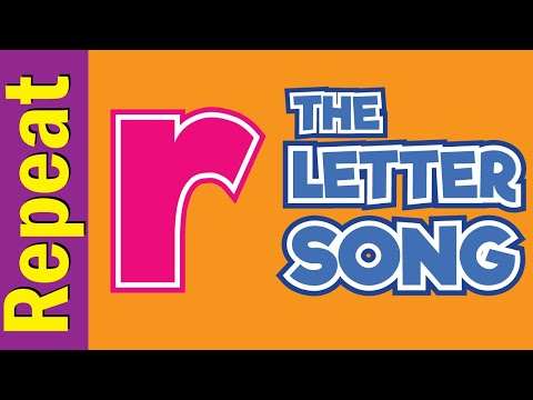 The Letter r Song - Listen & Repeat   Phonics Song   ESL for Kids   Fun Kids English