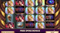 GODS OF GREECE Video Slot Casino Game with a MEDUSA WILDS FREE SPIN BONUS