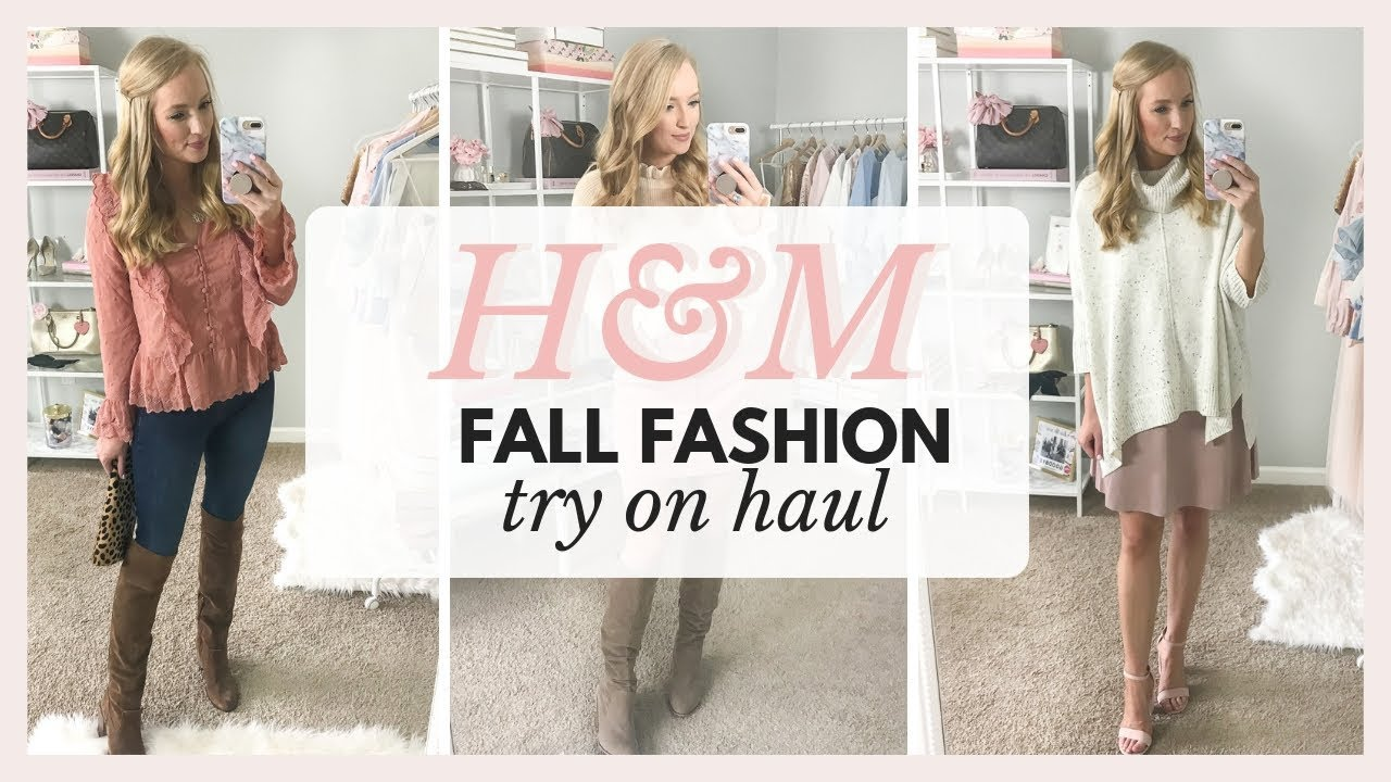 e43fb80f76c41 H&M TRY ON HAUL - FALL OUTFITS 2018 - YouTube