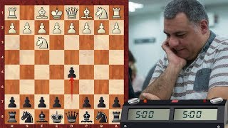 LIVE Blitz #2947 (Speed) Chess Game: Black vs IM PudelsKern in Réti: King