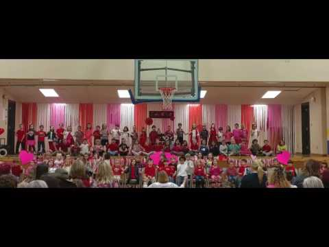2017 Valentine's play at Cold Springs Elementary