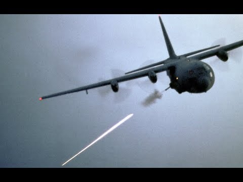 Deadliest Aircraft in the US Air Force: The AC-130 Spectre Gunship (720p)