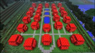 Minecraft How To Build Smurfs Village in easy way Episode - 29