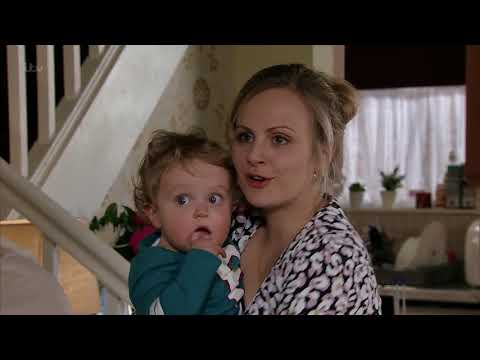 Bethany and Sarah Both Cry When Bethany Has to Leave - Coronation Street