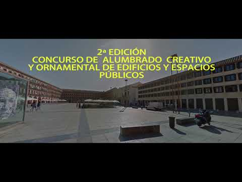Proyecto ganador del II Concurso de Alumbrado Creativo y Ornamental de Edificios Públicos