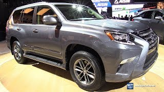2018 Lexus GX460 F Sport - Exterior and Interior Walkaround - 2018 Detroit Auto Show