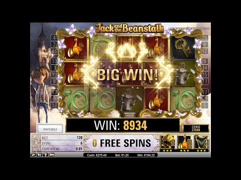 EPIC LAST SPIN - Jack and the Beanstalk - NetEnt