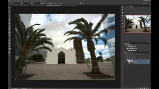 Fixing distortions in Photoshop