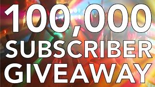 100K Subscriber 3D Printer Giveaway!!!