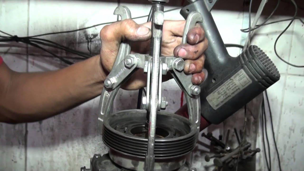 Compressor Do Duster-renault Troca De Rolamento