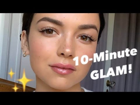 My NEW 10-Minute Makeup Routine With BECCA Cosmetics!