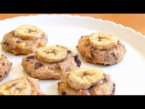 vegan-&-sugar-free-chunky-banana-cookies-|-sweettreats