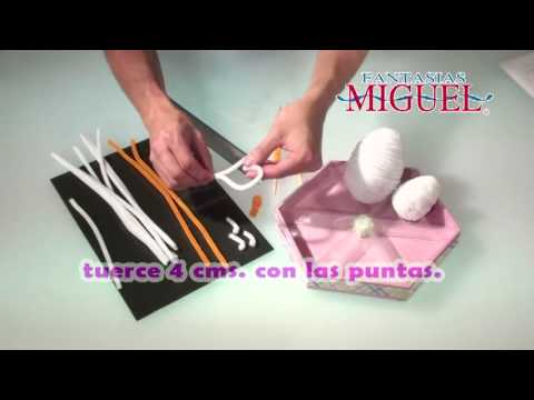 Como hacer un Centro de mesa para Baby Shower-2 - YouTube