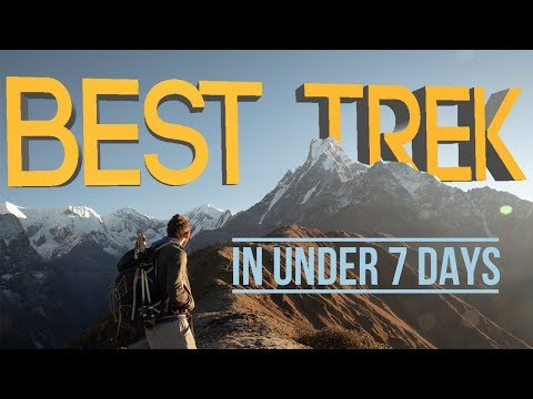 The Best Trek In Nepal Under 7 Days, Mardi Himal Review