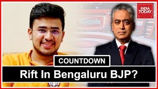 BJP's Young Candidate, Tejasvi Surya, On Contesting From Bengaluru South   Countdown With Rajdeep