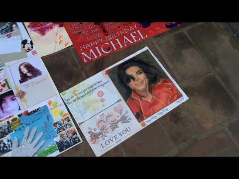 Michael Jackson 57th Birthday Forest Lawn Los Angeles CA