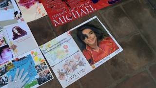 Michael Jackson 57th Birthday Forest Lawn Los Angeles CA