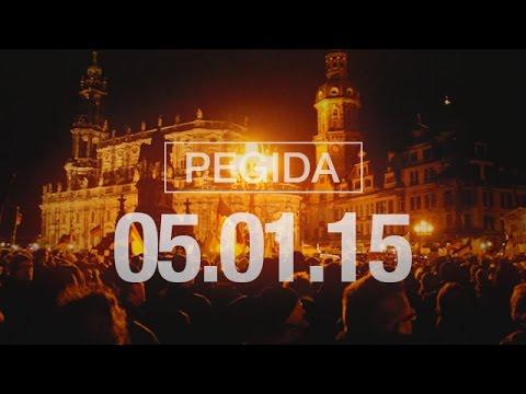 Mobilisierungsvideo: PEGIDA Montagsdemonstration am 05.01.2015 in Dresden