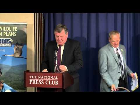 Strategy To Prevent Fish & Wildlife Crisis (press Conference- Unedited)