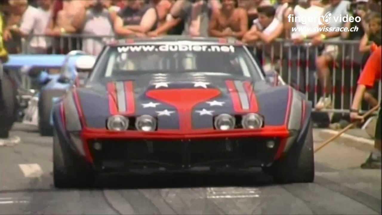 American Muscle Cars Hillclimb Reitnau Pontiac Trans Am