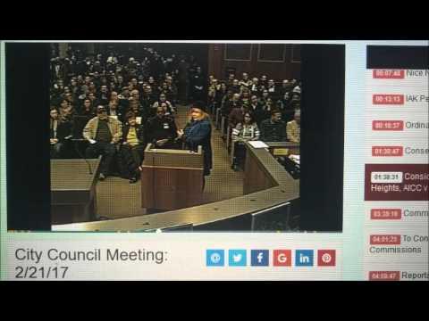 Janice Daniels Speaks Against Mosque in Sterling Heights Feb 21 2017